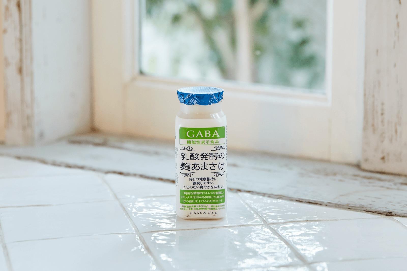 乳酸発酵の麹あまさけ GABA