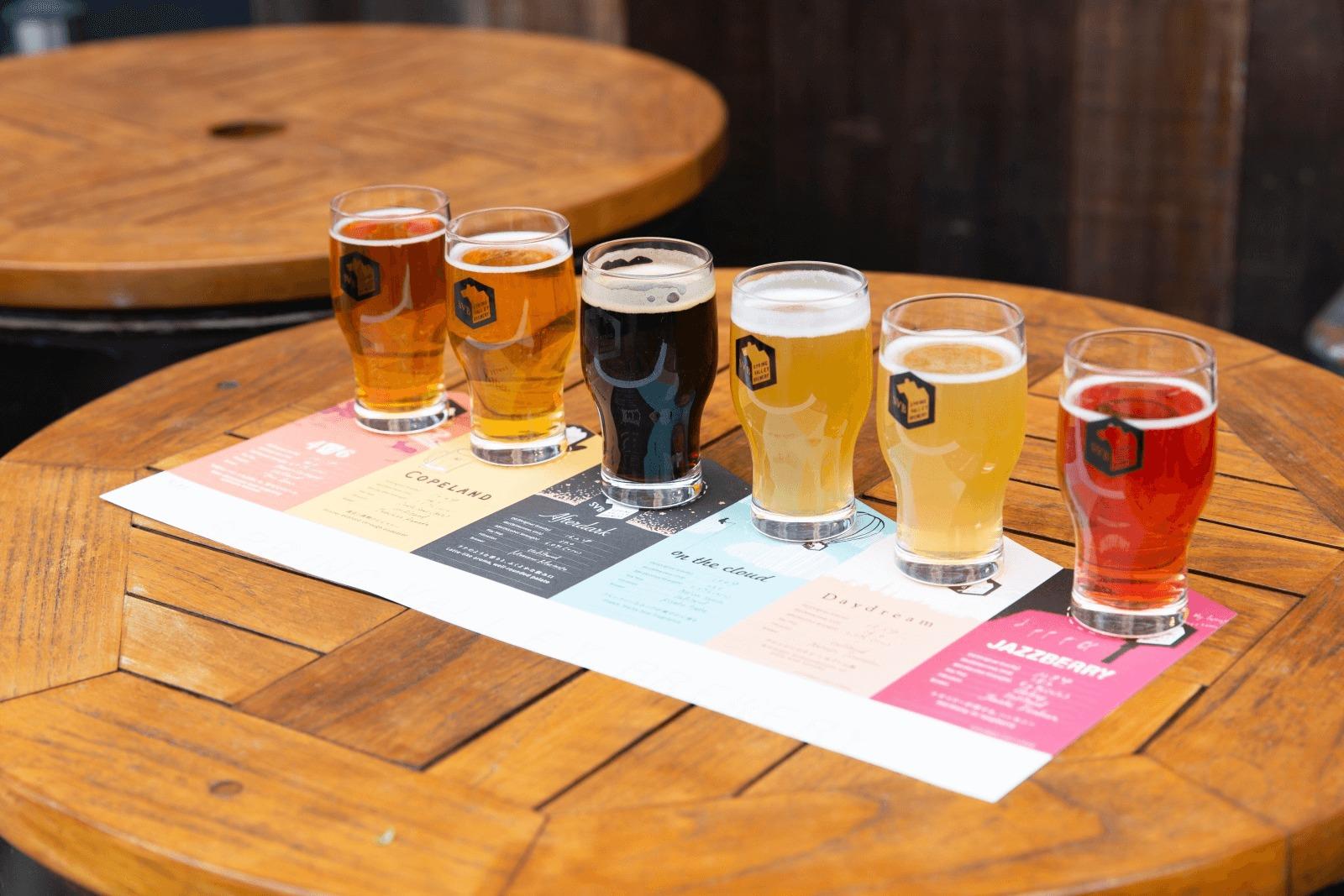 温度が変わればビールの味わいも変わる。温度を変えて新しいビール体験を
