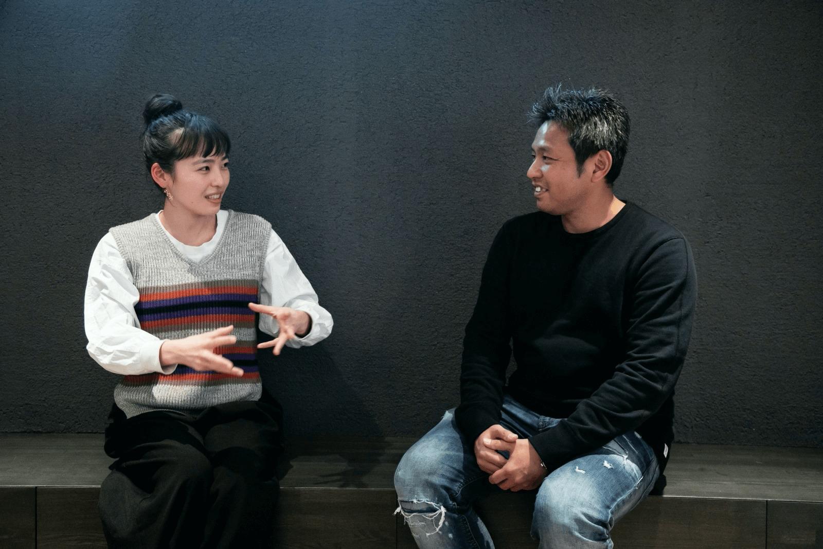 清水さんと大和さんインタビューカット