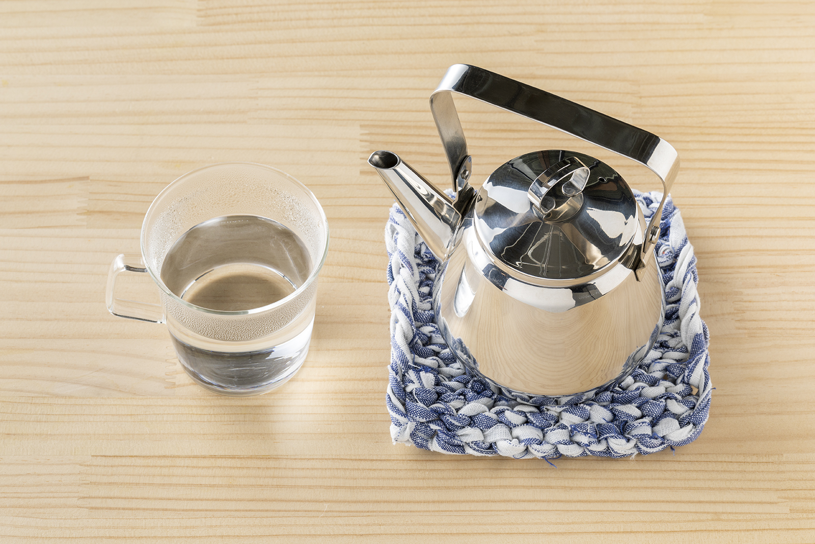 白湯とやかん